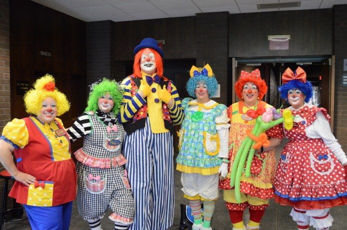 Photo from clown camp 2016