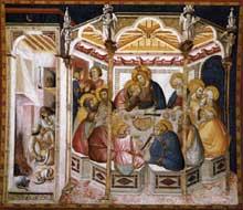 Pietro Lorenzetti La dernière Cène