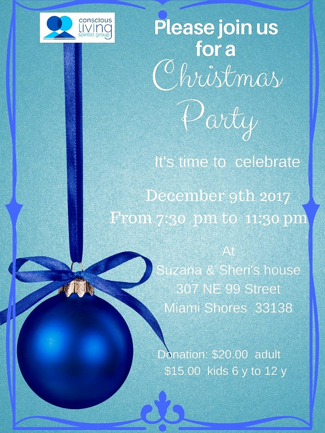 December 9th – Christmas Party