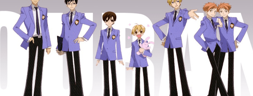 ouran high school host club reverse harem example