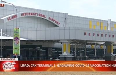 LIPAD: Clark International Airport Terminal 1 gagawing COVID-19 vaccination hub