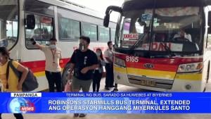 Robinsons Starmills Bus Terminal, extended ang operasyon hanggang Miyerkules Santo   CLTV36 News