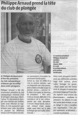 La République du Centre – 15/07/2010