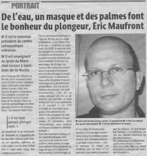 La République du Centre – 19/08/2005