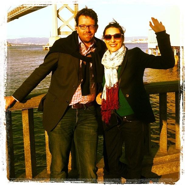 Lionel Reichardt et Lucie Tesquier. San Francisco Avril 2013