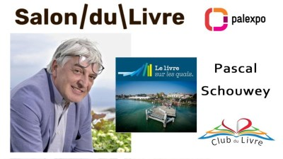 Pascal Schouwey - Association Livre sur les quais - Salon du livre Genève 2019