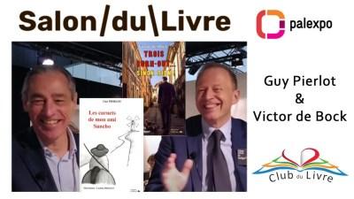 Victor de Bock et Guy Pierlot - Editions l'Officine - Salon du livre Genève 2019