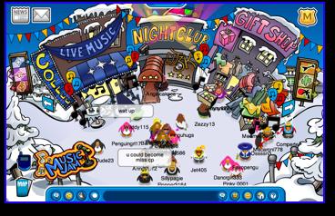 Post image for Club Penguin Music Jam Begins