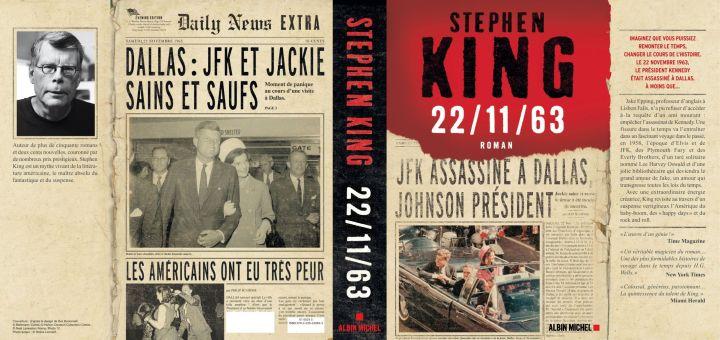 [22/11/63 Stephen King Albin Michel, couverture complete (thumbnail) - Photo]