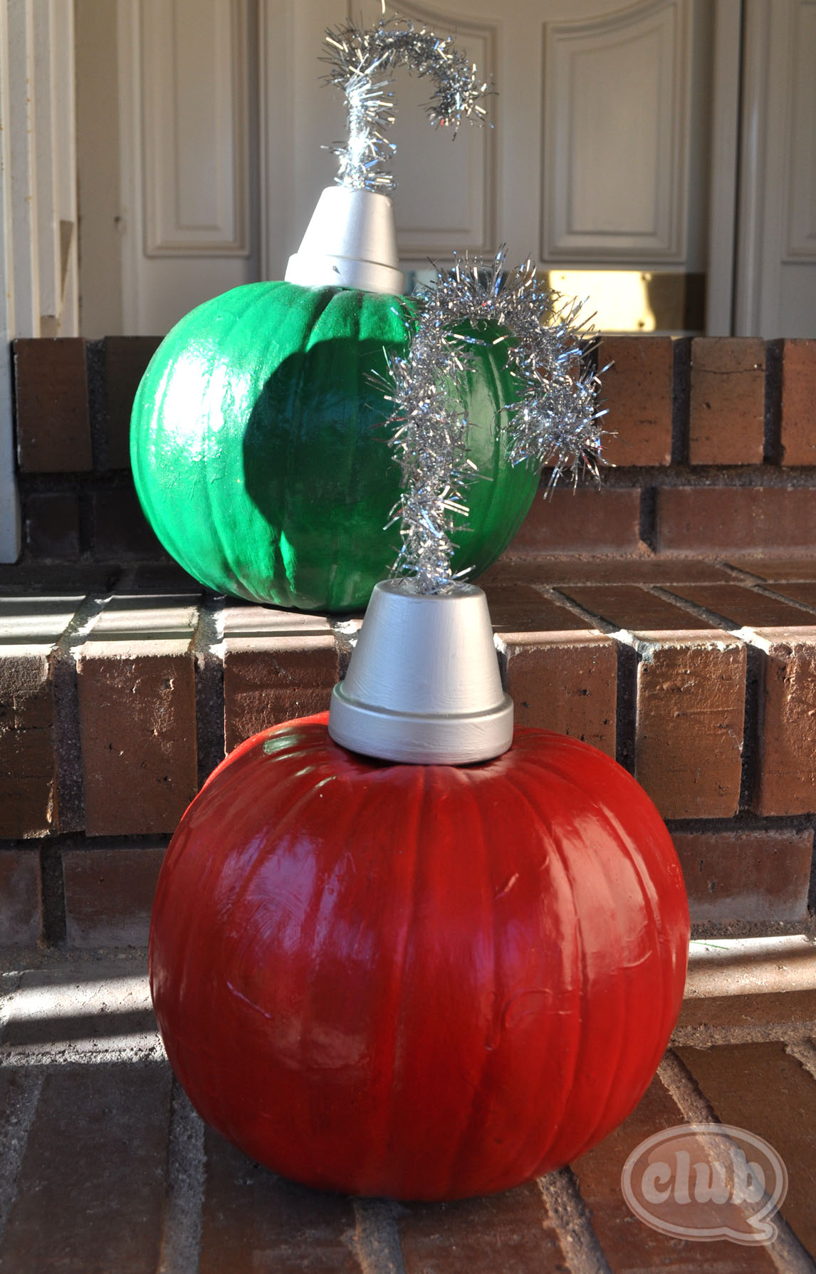 Holiday Pumpkins Re Purposed