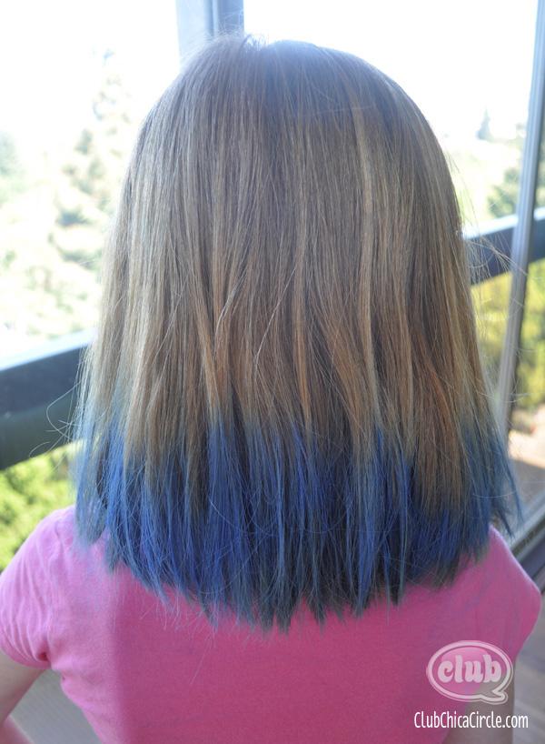 Using Chalk To Dye Hair
