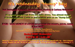 """Wednesday """"HuMp DaY"""" & Self Love Meet - Fun and Food! @ Club3X 