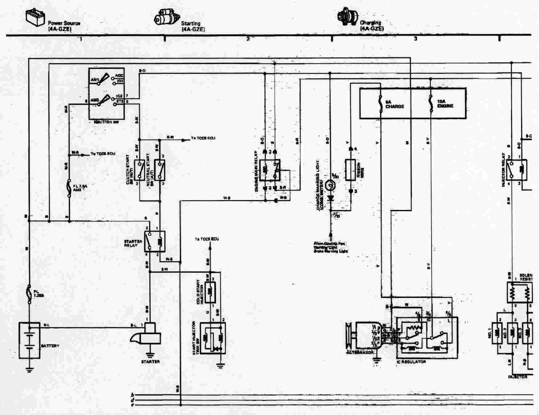 1988 Toyota Mr2 Wiring Diagram Engine 85