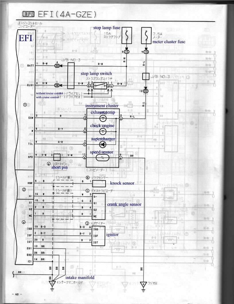 Fine 4age 20v Wiring Diagram Photos Electrical And Wiring