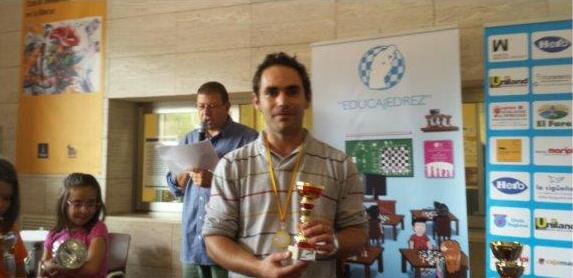 Jose Luis Romero, 3º clasificado en La Alberca