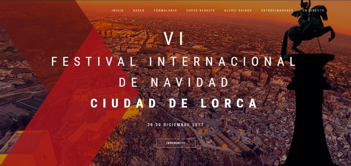 VI Festival Internacional Ciudad de Lorca 2017 | Novedades
