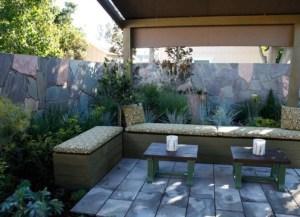 open air garden room