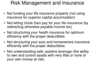risk mgt and insurance