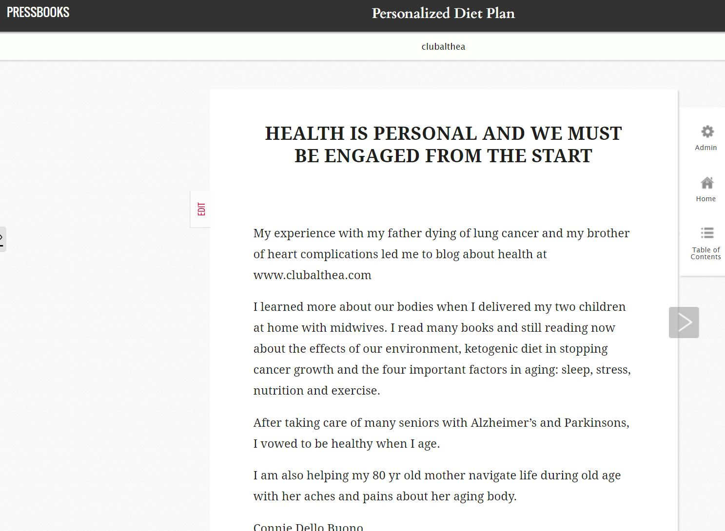 Personalized diet ebook brain disease senior care womens health fandeluxe Image collections