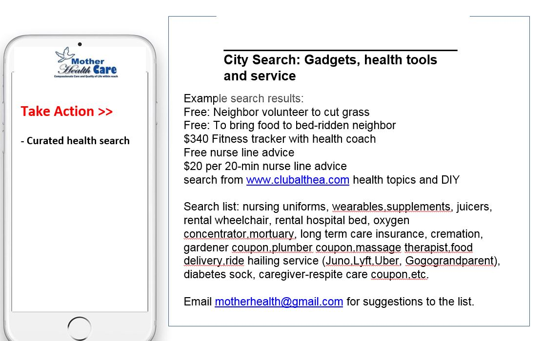 search health curated