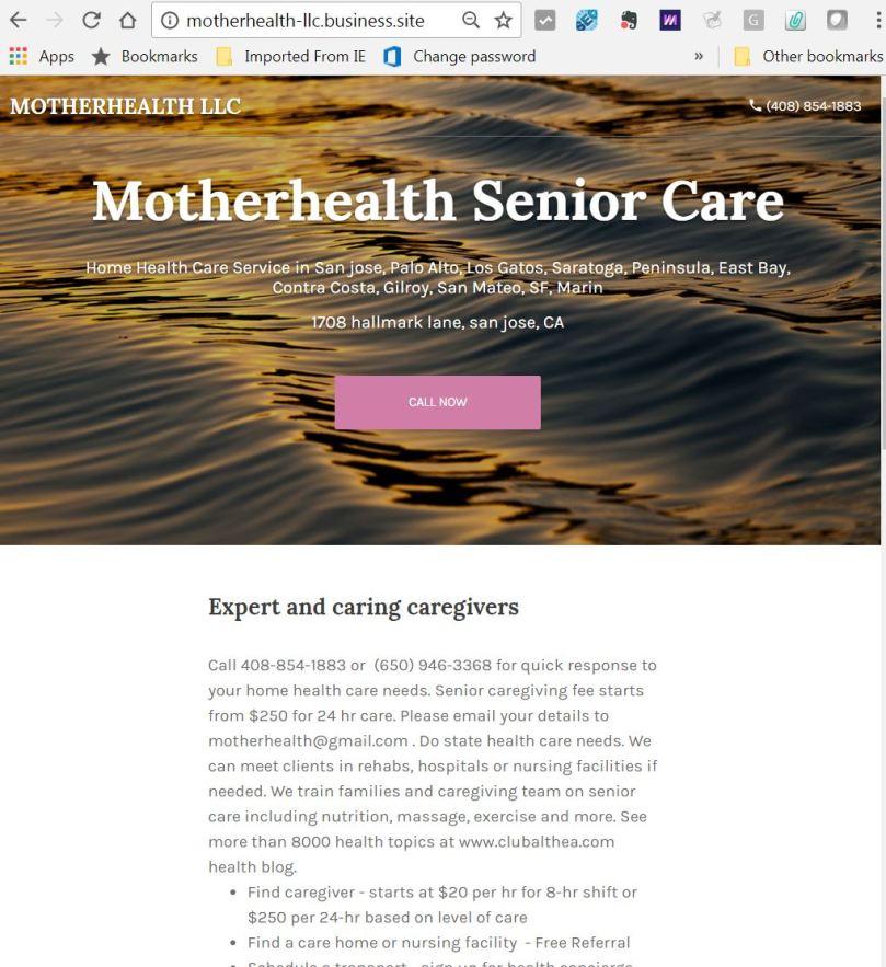 caregivers mother 1