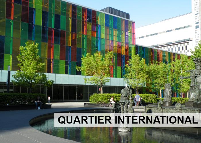 Quartier International Condos Appartements