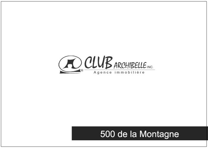 500 de la Montagne Condos Appartements