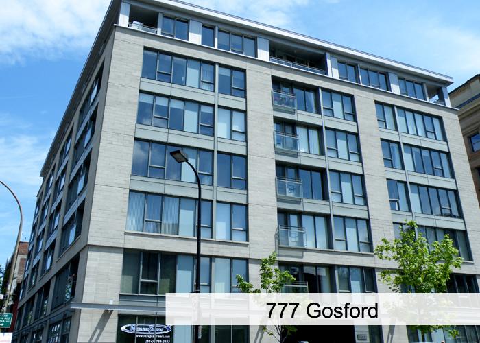 777 Gosford Condos Appartements