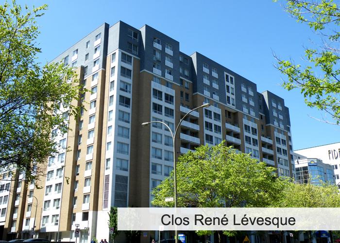 Clos René-Lévesque Condos Appartements