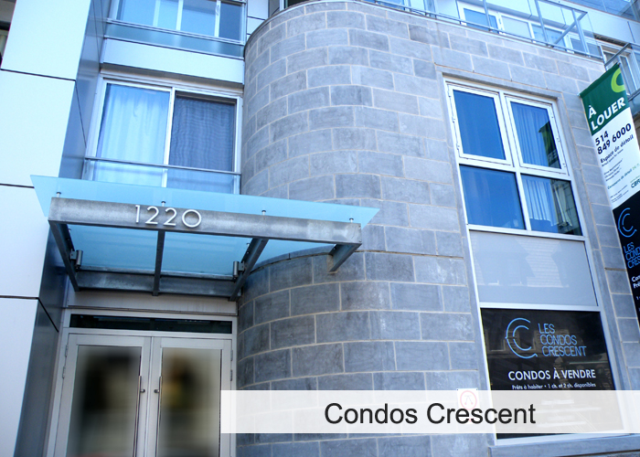 Condos Crescent Condos Appartements