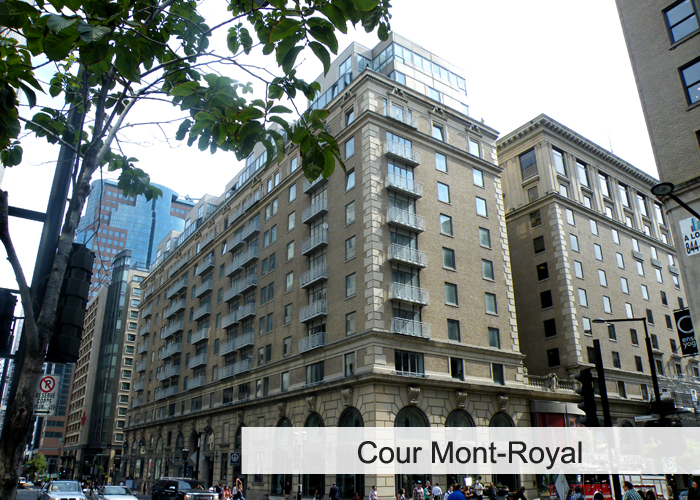 Cours Mont-Royal Condos Appartements