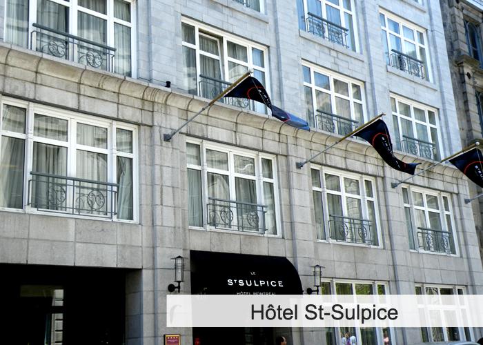 Hôtel Saint-Sulpice Condos Appartements