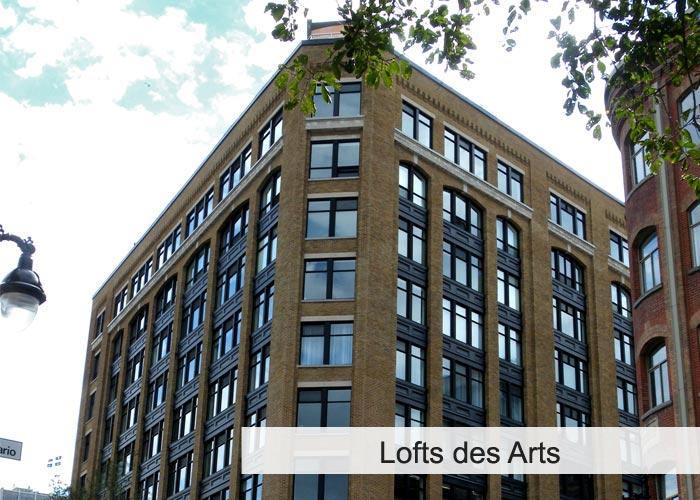 Lofts des Arts Condos Condos Appartements