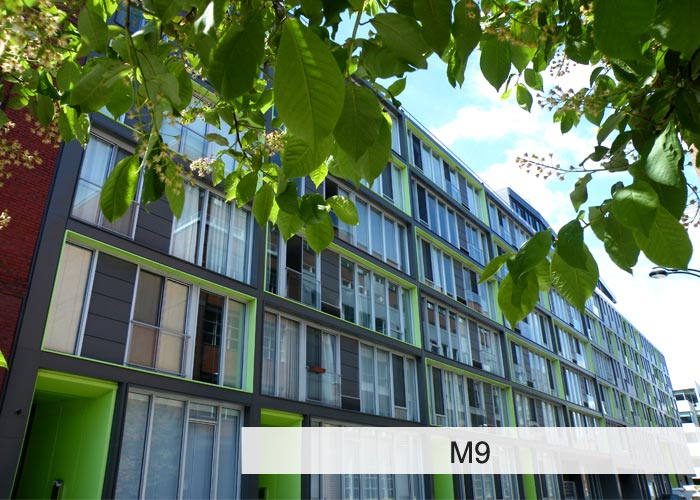 M9 , M9 Evolution, M9 Phase 3, M9 Phase 4 Condos Appartements