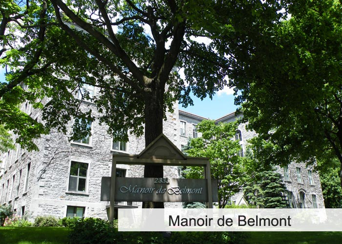 Manoir de Belmont Condos Appartements