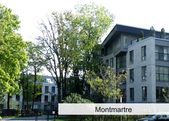 Montmartre Condos Appartements