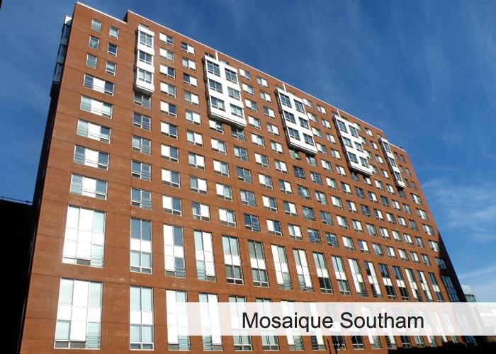 Mosaïque Southam Condos Appartements