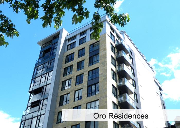 ORO Résidences Condos Appartements