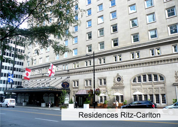 Résidences du Ritz-Carlton Condos Appartements