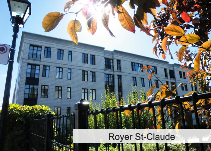 Royer St-Claude Condos Appartements
