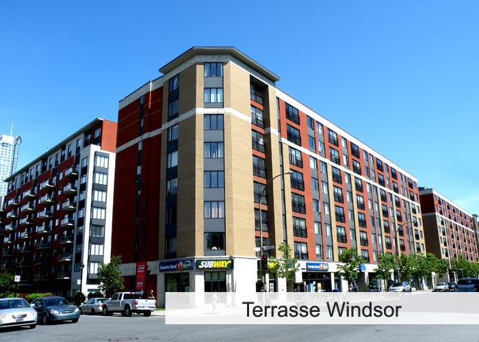 Terrasses Windsor Condos Appartements