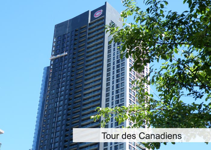 Tour des Canadiens Condos Appartements