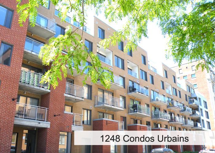 1248 Condos Urbains Condos Appartements