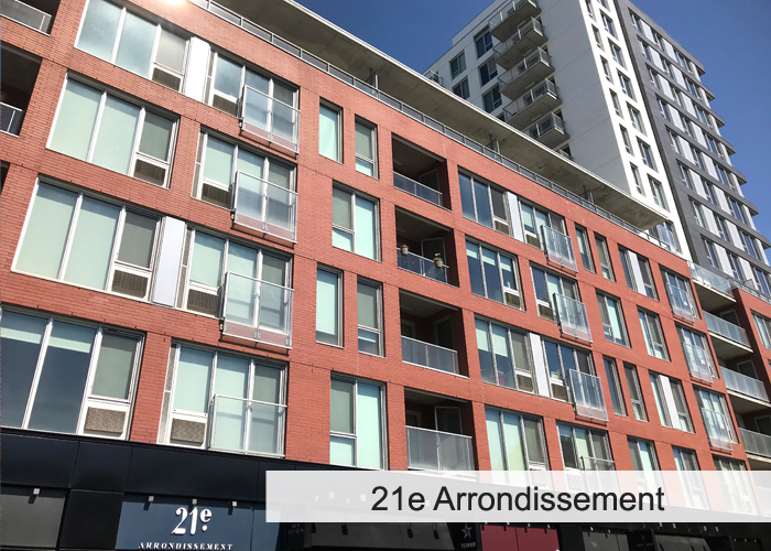 21e Arrondissement Condos Appartements