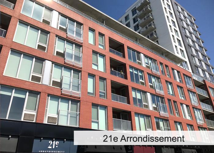 21e Arrondissement Condos Appartements