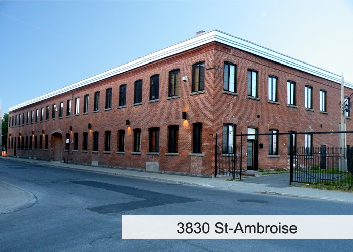 3830 St-Ambroise Condos Appartements