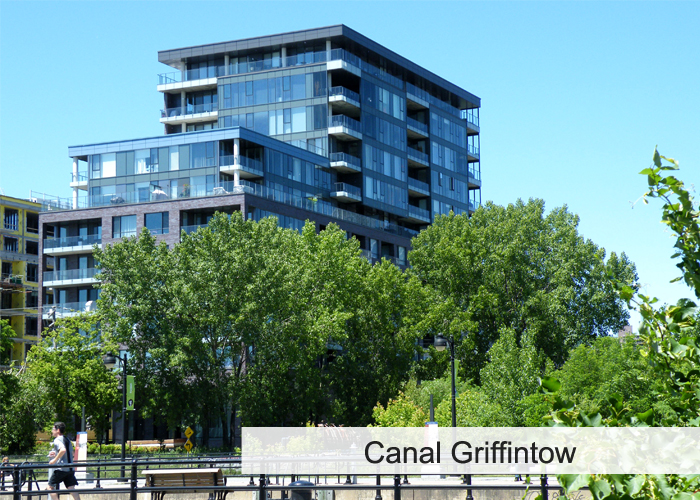 Canal Griffintown Condos Appartements