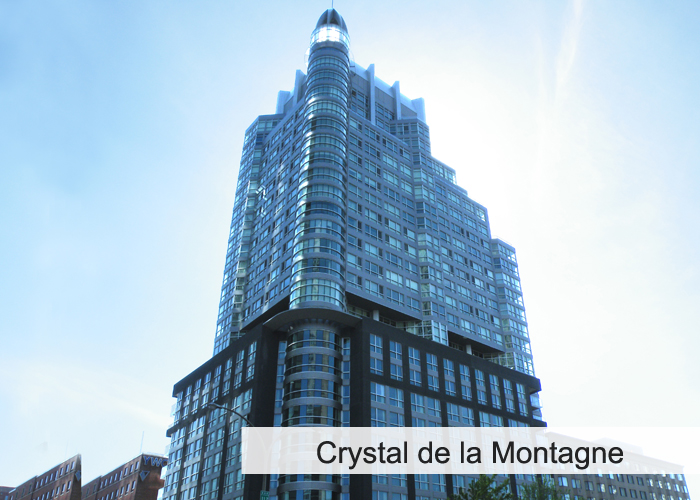 Crystal de la Montagne Condos Appartements