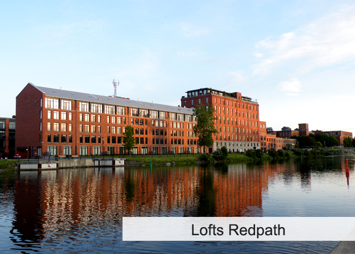 Lofts Redpath Condos Appartements