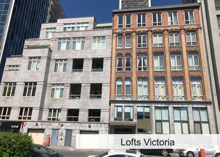 Lofts Victoria Condos Appartements